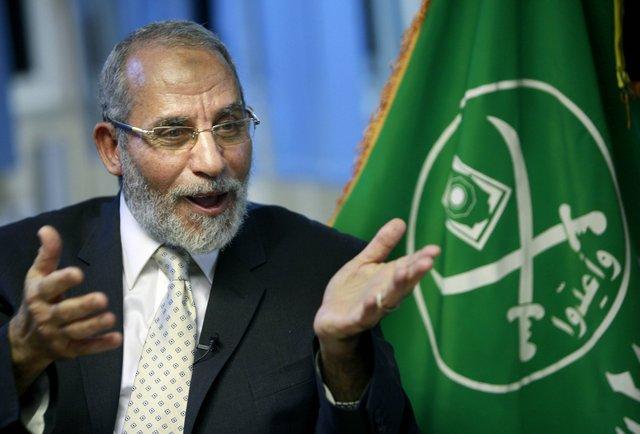 Muslim Brotherhood spiritual leader Mohammed Badie