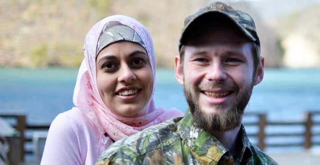 Muslim convert Will Coley & wife Farah Adam