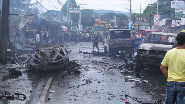 Muslim terrorist attack Cotabato City