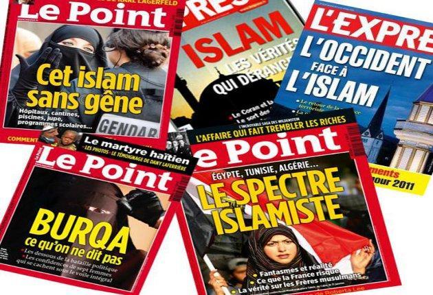 French-magazines-Islam
