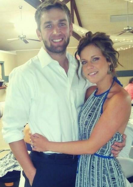 Josh Hargis and his wife, Taylo