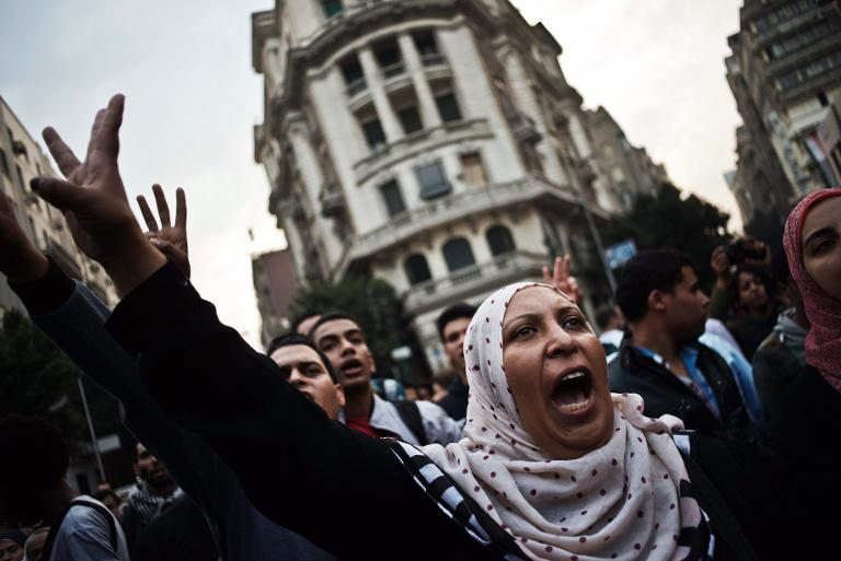 Pro-Muslim Brotherhood fascists curse the Egyptian military