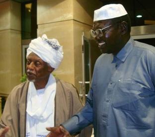 Malik Obama and Suar al-Dahab.