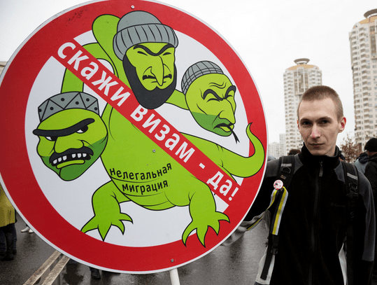 Nationalist-demonstrator-Moscow-November-2013