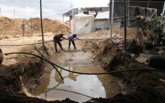 Egipto ha inundado / destruido la mayor parte de los túneles de contrabando en Gaza