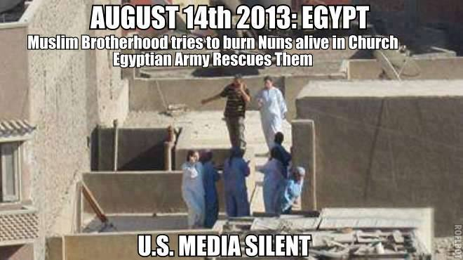 egypt kills nuns