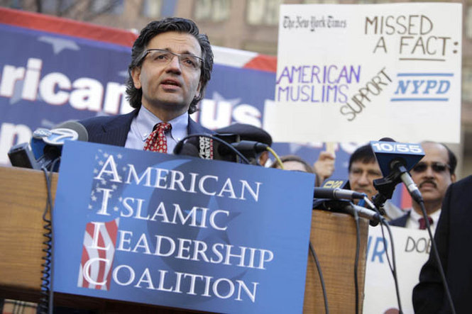 Jasser led a small group of Muslims who supported the NYPD's extra surveillance of Muslims