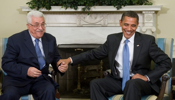 Obama and Abu Mazen