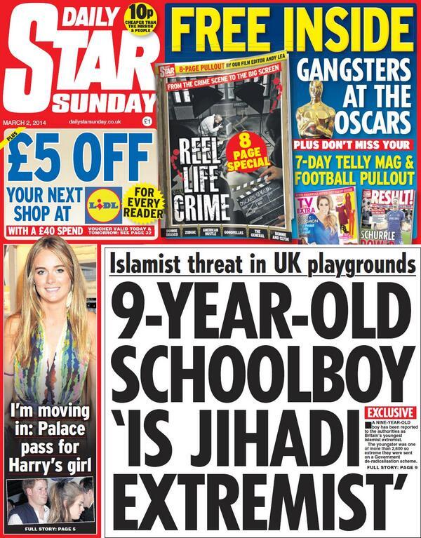 Daily-Star-Sunday-jihadi-extremist-headline