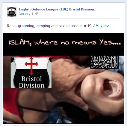 EDL-Bristol-anti-Islam-post