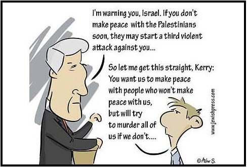 News Jewish Press Carton Kerry Israel Dec 6 2013