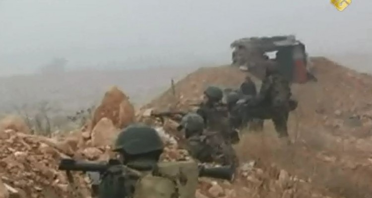 Syrian Army battles insurgents