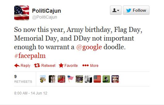 Google-ignores-patriotic-American-holidays