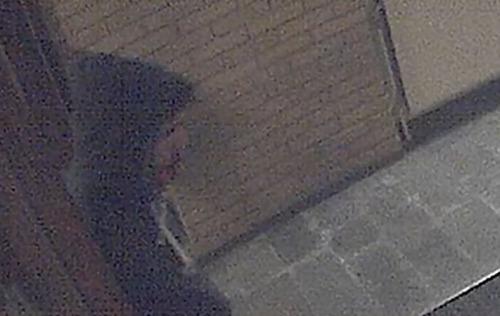 Attacker caught on CCTV