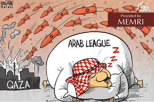 The Arab League snoozes as Israeli missiles land on Gaza