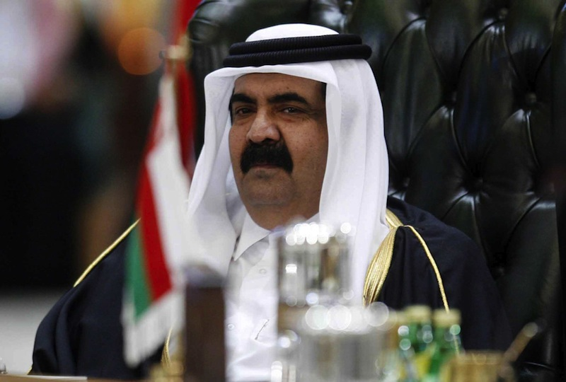 Qatar Emir Sheikh Hamad bin Khalifa Al Thani: spreading the Salafi movement and madrassah's across Europe, while 'investing' to ease red tape and build contacts for quicker approvals and access.