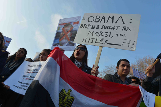 Egyptian Americans urge Obama to denounce Mohammed Morsi administration
