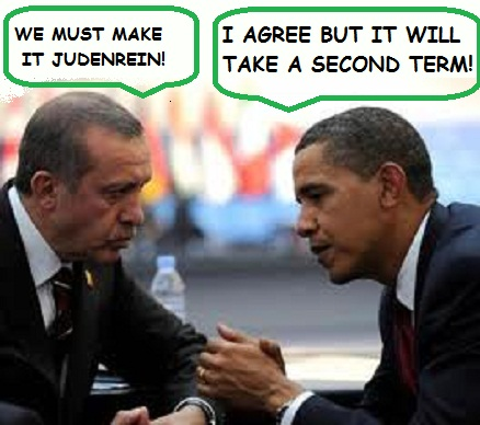 Obama and Erdogan anti-Zionists
