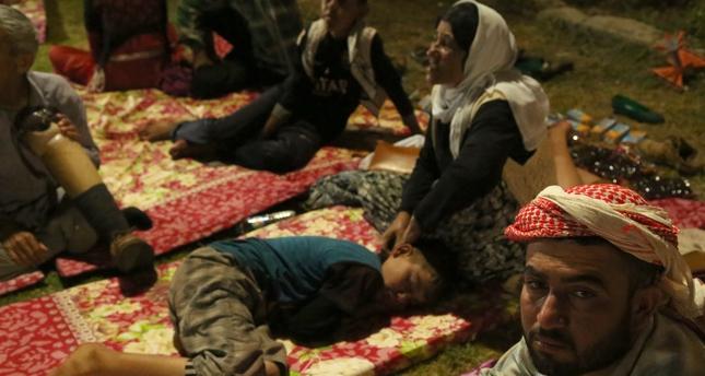 Dağda mahsur kalan 51 Yezidi kurtarıldı