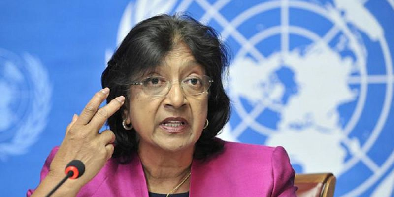 Navi Pillay, UN degenerate
