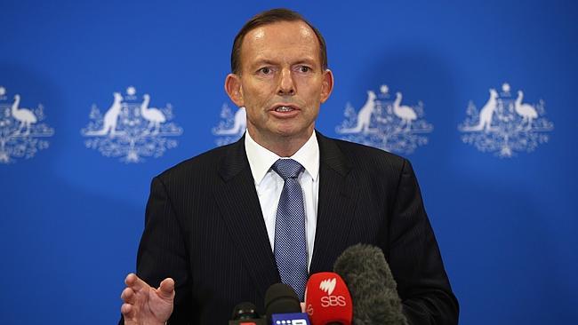 PM Tony Abbott
