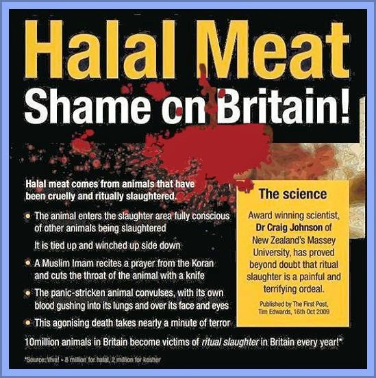 Ban Halal Meat Campaign