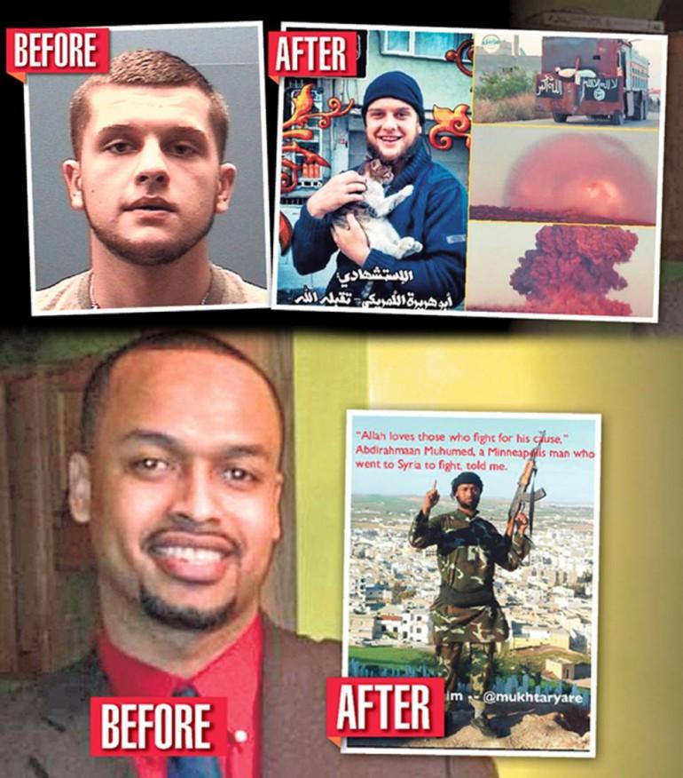 American Muslims turned ISIS jihadists