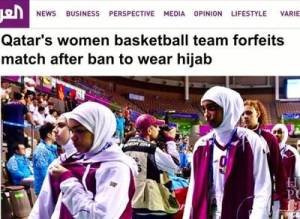518430896-Qatar-Challenges-Hijab-Ban-At-2014-Asian-Games