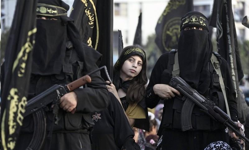 Brigada de ISIS mujeres