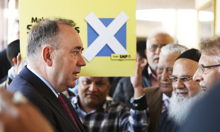 No surprise, Alex Salmond had strong support from muslim community