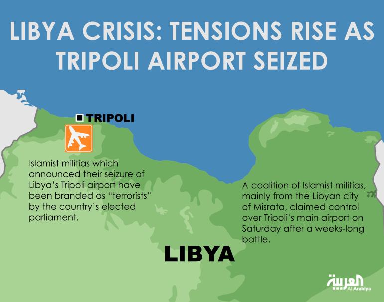Krisis-Libya-Ketegangan-meningkat-karena-bandara-Tripoli-telah-disita.