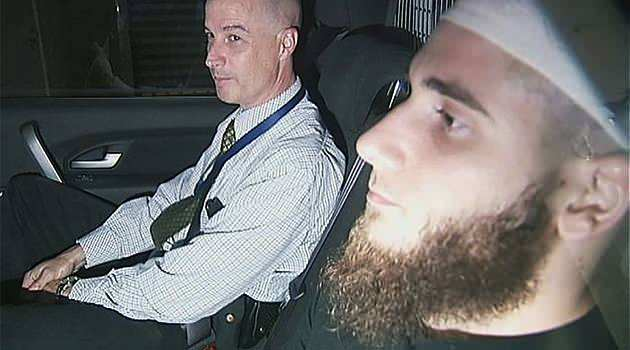 Omar Succarieh is one of two men charged with organising incursions into Syria after a series of raids in Brisbane and