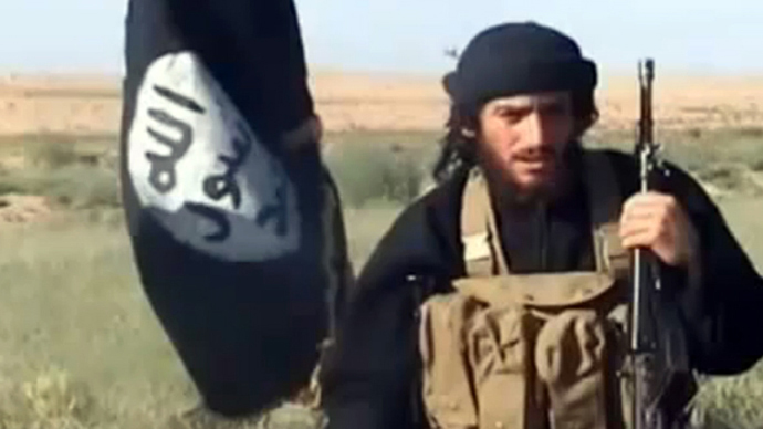 Spokesman: Abu Mohammad al-Adnani (above) attacked Pres. Barack Obama and Sec. of State John Kerry in a new audio recording released yesterday by ISIS