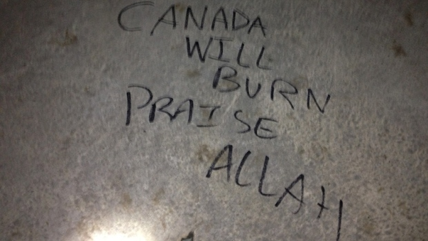 What about the threats from Muslim to Canadians?