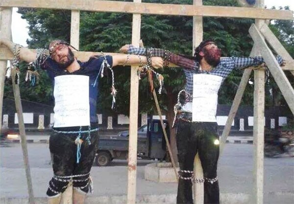Syrians-crucified