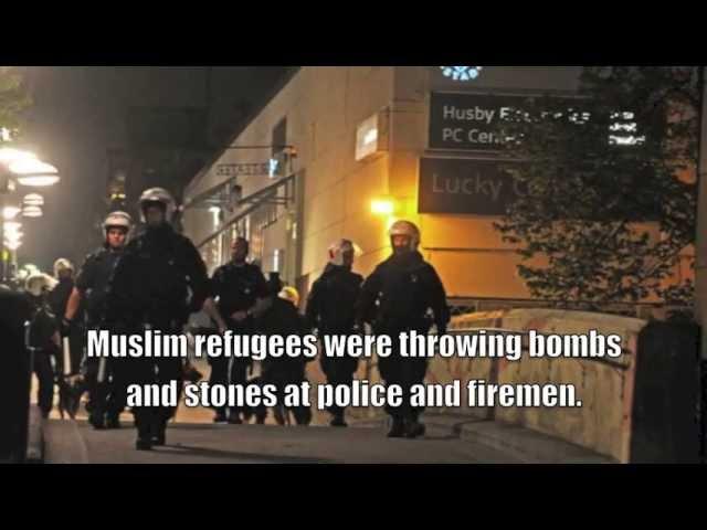 Recent Muslim riots in Stockholm