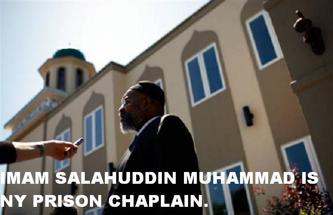 The imam of the Newburgh mosque,Salahuddin Muhammad , where the Bronx-plot terror cell was organized has worked for more than 20 years in the New York state prison system converting inmates to Islam — and was hired by the radical Muslim chaplain banned for praising the 9/11 hijackers.
