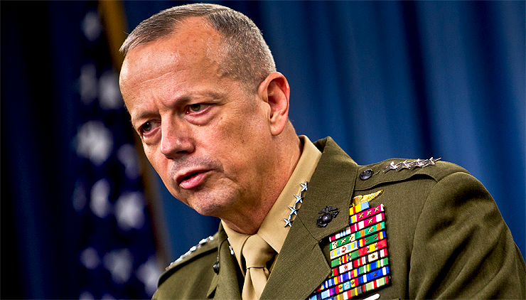 Retired Marine General John Allen