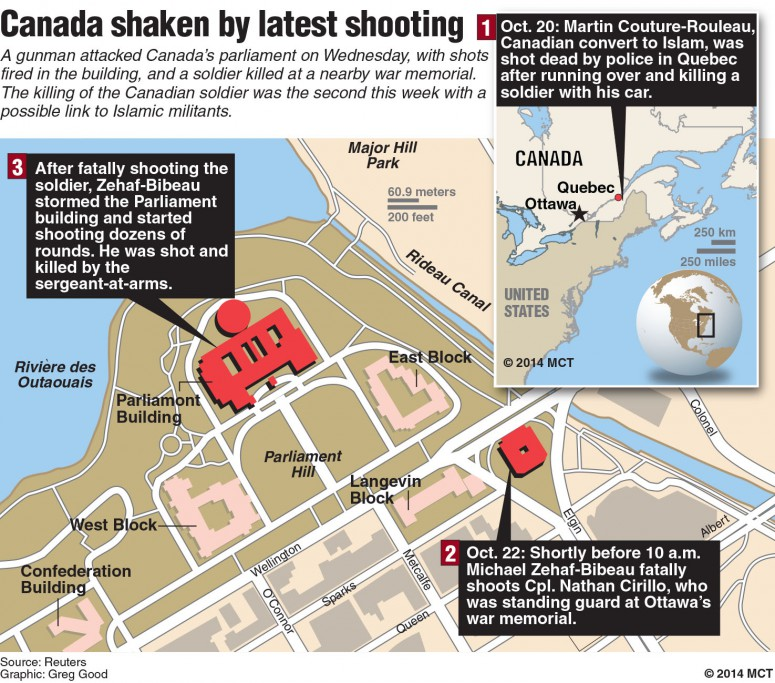 Canada shaken by latest shooting
