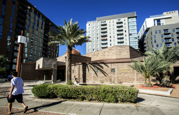 The campus-area Islamic Center, 909 E. First St., has been at the same spot for 25 years but is now considering a move.