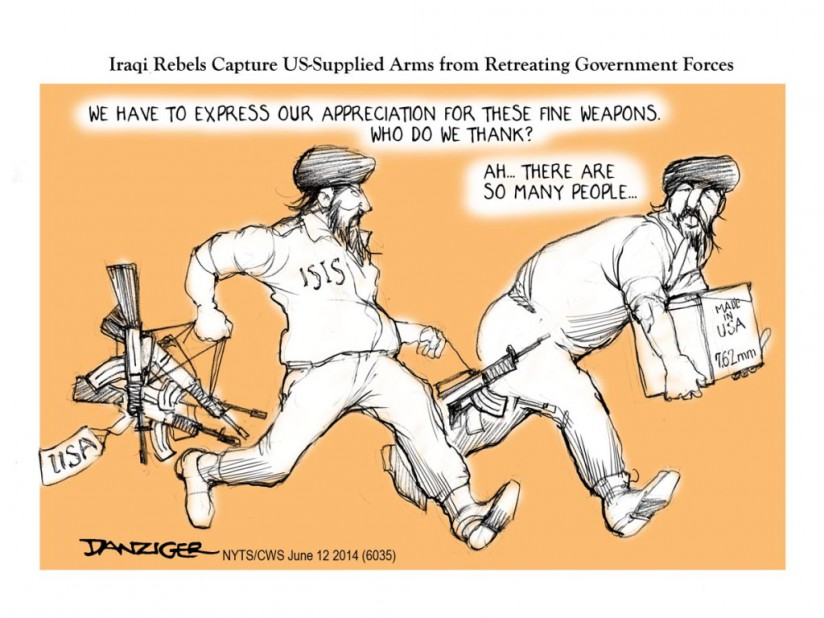ISIS Gets US Arms
