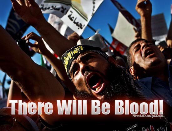 Muslim Brotherhood riots in Cairo