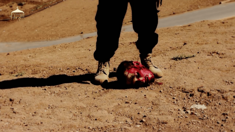 American Peter Kassig's severed head