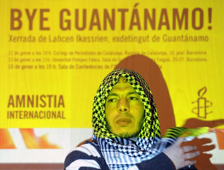 Former Guantano Bay terrorist Moroccan Lahcen Ikassrien
