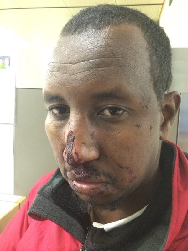 Somali Muslim alleged 'victim'