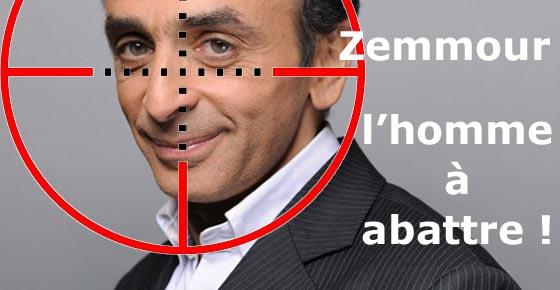 Eric Zemmour - a target