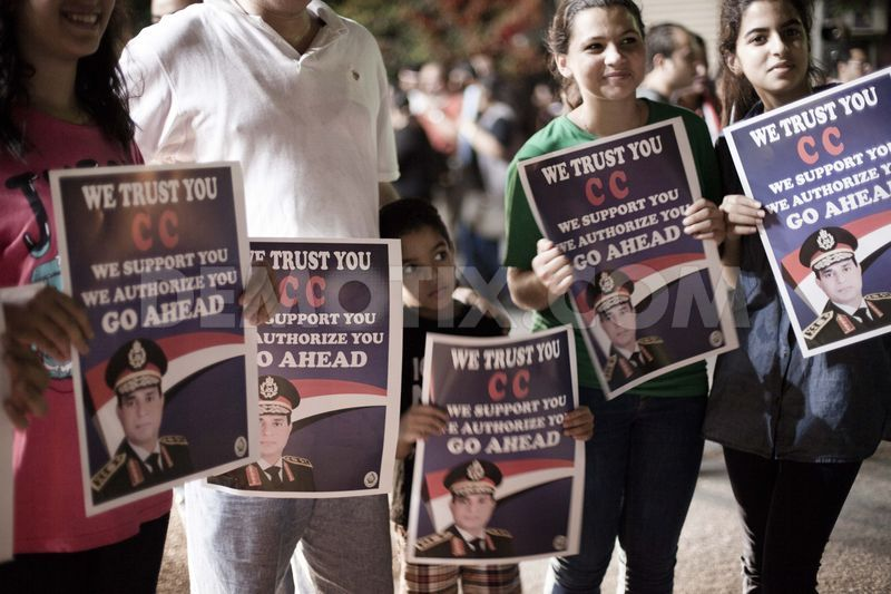 al-Sisi has the overwhelming support of the Egyptian people