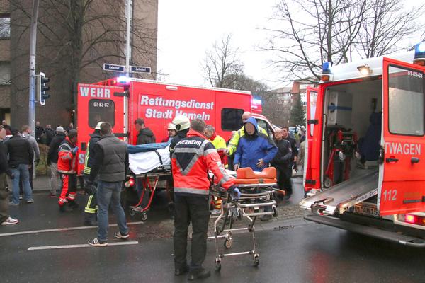 Hospital-riot