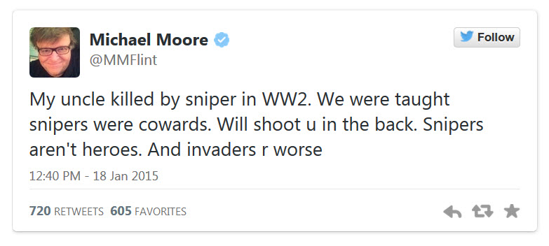 Michael-Moore-Chris-Kyle-Coward-Tweet