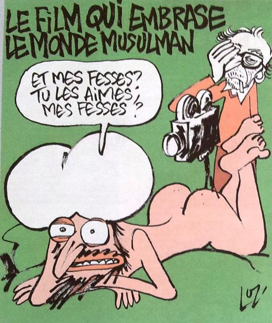 """TITULO: LA PELÍCULA QUE prende fuego al mundo musulmán.  """"Y mi culo?  ¿Te gusta mi culo? """""""